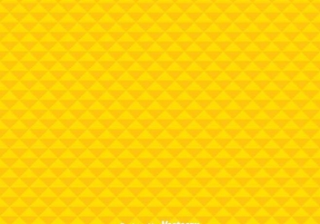 Geometric Yellow Background - vector gratuit #349201