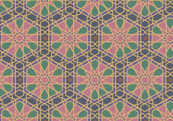Mosaic Pattern Vector - бесплатный vector #349771