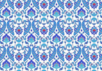 Seamless Floral Pattern - Kostenloses vector #349961