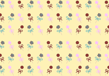 Free Cake Pops Patterns #4 - Free vector #350051