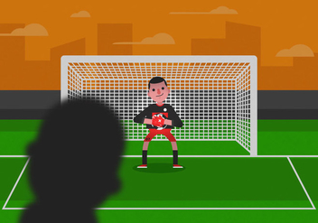 Vector Goalkeeper - vector gratuit #350061