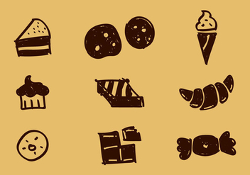 Free Bakery Vector Icons - бесплатный vector #350161
