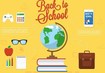 Free Vector Back To School - vector gratuit #350391