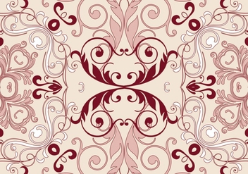 Floral pattern background - Kostenloses vector #350551