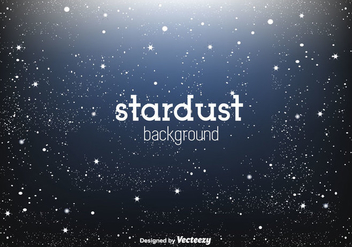 Shining Stardust Vector Background - vector gratuit #350661