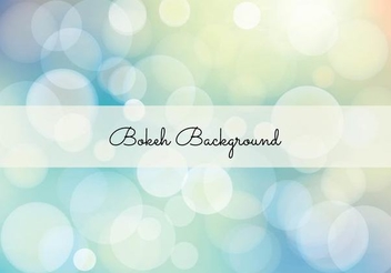 Elegant Colorful Bokeh Background - Kostenloses vector #351331