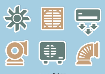 Hvac Icons Sets - vector gratuit #351931
