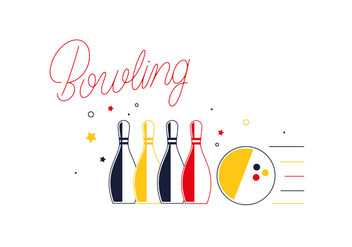 Free Bowling Alley Vector - бесплатный vector #351991