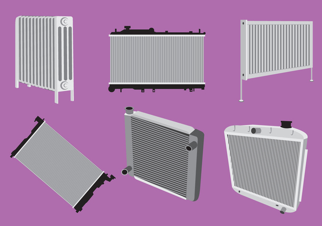Various Type of Radiator Vector - vector #352141 gratis
