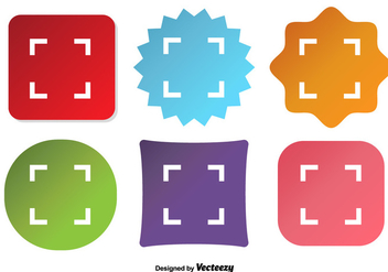 Viewfiner Vector Icons - vector #352211 gratis
