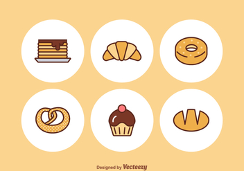 Free Bakery Vector Icons - бесплатный vector #352381