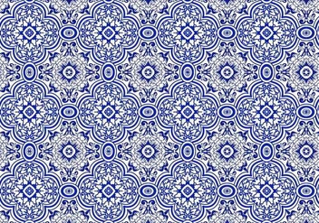 Free Azulejo Background Vector - vector gratuit #352391