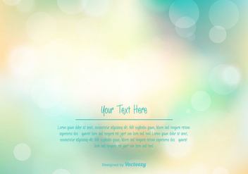 Beautiful Blurred Vector Background - бесплатный vector #352541