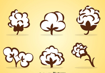 Cotton Vector Sets - vector gratuit #353681