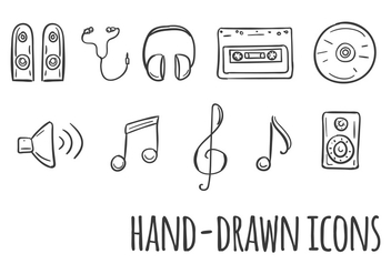 Music Vector Icons - vector #353751 gratis
