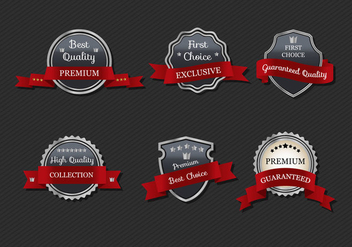 Free Metal Ribbon Vector - Free vector #353781