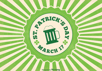 St Patrick's Day Vector Illustration - Free vector #353891