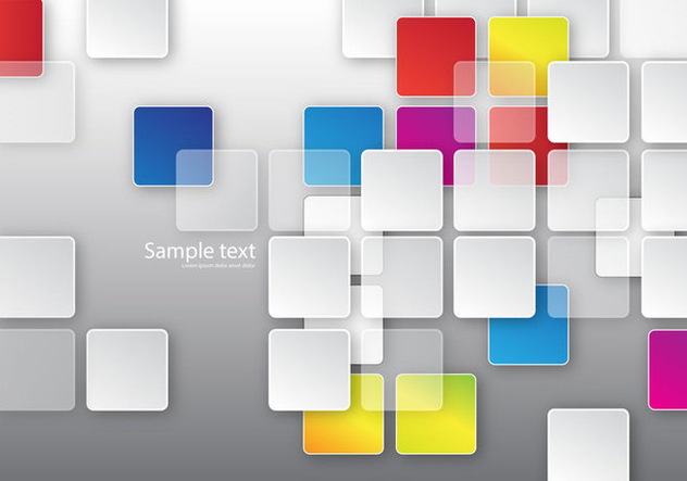 Free Squares Background Vector - Free vector #353941