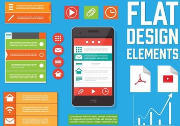 Free Vector Web Design Elements - vector gratuit #354031