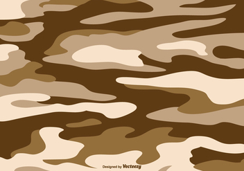 Arid Multicam Pattern Vector Background - vector gratuit #354131