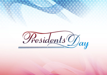 President Day Card - vector #354371 gratis