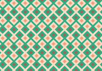 Squared Geometric Pattern - vector gratuit #355171