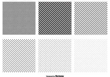 Transparent Polka Dot Vector Patterns - Kostenloses vector #355981