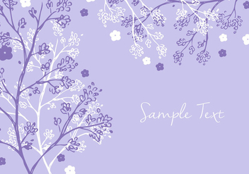 Colorful Floral Background - vector gratuit #356601