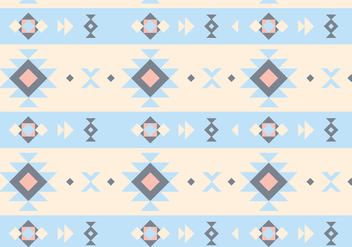 Native Abstract Pattern Vector - vector gratuit #356701