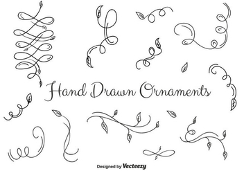 Ornaments Set Vector - Free vector #356801