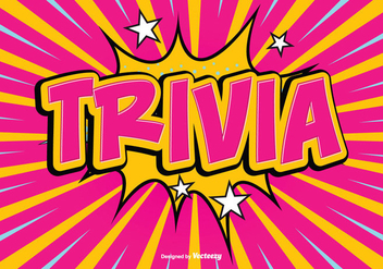 Trivia Text Illustartion - vector #356841 gratis