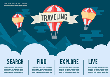 Free Travel Vector Illustration - бесплатный vector #356871