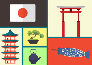 Japanese Vector Icons - Free vector #356901