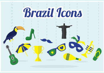 Brazil Vector Collection - бесплатный vector #356961