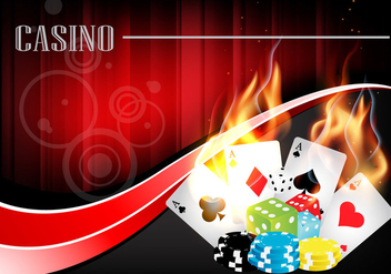 Casino Background Vector - vector gratuit #357211