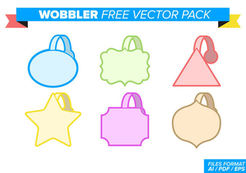 Wobbler Free Vector Pack - Free vector #357491