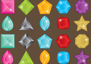 Strass Colorful Stones - vector #358441 gratis