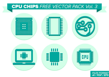 Cpu Chips Free Vector Pack Vol. 3 - Kostenloses vector #358561