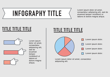 Outlined Entrepreneurship Infography Vector - vector gratuit #358641