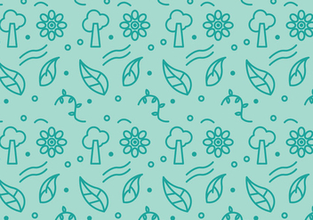 Free Green Pattern #1 - vector gratuit #358661