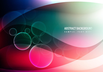 Free Colorful Waves Vector Background - бесплатный vector #358681