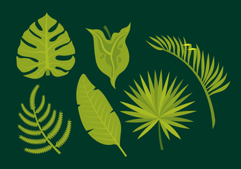 Vector Leaves - vector #358761 gratis