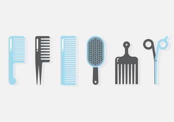 Vector Barber Tools - бесплатный vector #358861