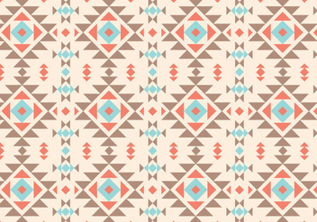 Native Rustic Pattern - vector #359281 gratis