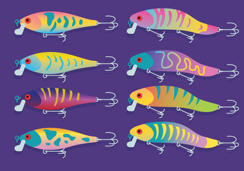 Fishing Lure Vector - Free vector #359341