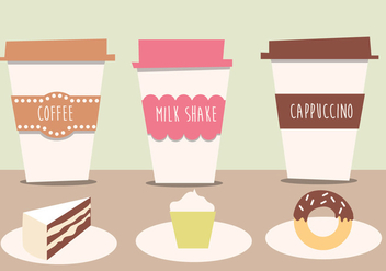 Cafe Free Vector - Free vector #359611