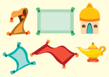 Magic Carpet Vector - vector #359651 gratis