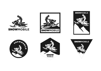 FREE SNOWMOBILE VECTOR - Free vector #359781