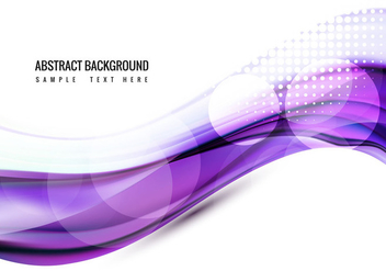 Free Shiny Wave Vector Background - vector gratuit #359931
