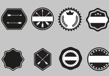 Free Badge Templates Vector - vector gratuit #359981